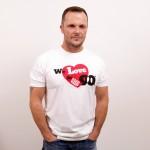 Pánske tričko s logom We love the 90's