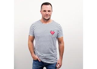 Pánske tričko s námorníckym motívom